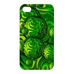 Green Balls  Apple Iphone 4/4s Premium Hardshell Case by Siebenhuehner