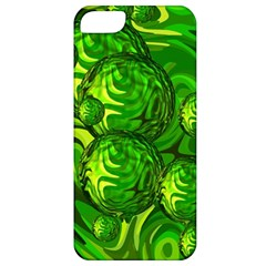 Green Balls  Apple Iphone 5 Classic Hardshell Case by Siebenhuehner