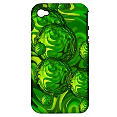Green Balls  Apple Iphone 4/4s Hardshell Case (pc+silicone) by Siebenhuehner