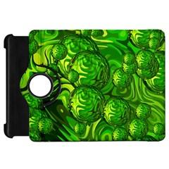 Green Balls  Kindle Fire Hd 7  Flip 360 Case by Siebenhuehner