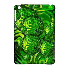 Green Balls  Apple Ipad Mini Hardshell Case (compatible With Smart Cover) by Siebenhuehner