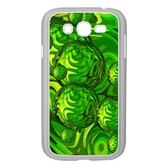 Green Balls  Samsung Galaxy Grand Duos I9082 Case (white) by Siebenhuehner