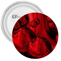 Red Bubbles 3  Button by Siebenhuehner