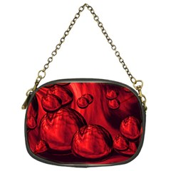 Red Bubbles Chain Purse (one Side) by Siebenhuehner