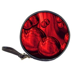 Red Bubbles Cd Wallet by Siebenhuehner