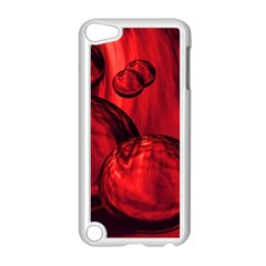 Red Bubbles Apple Ipod Touch 5 Case (white) by Siebenhuehner