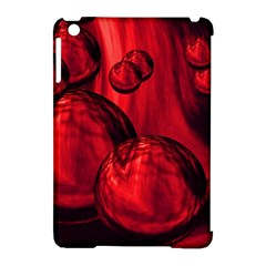 Red Bubbles Apple Ipad Mini Hardshell Case (compatible With Smart Cover) by Siebenhuehner