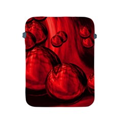 Red Bubbles Apple Ipad 2/3/4 Protective Soft Case by Siebenhuehner