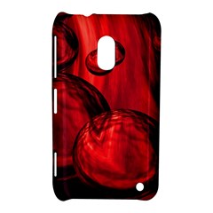 Red Bubbles Nokia Lumia 620 Hardshell Case by Siebenhuehner