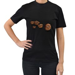 Zombie Cookie Womens' T Shirt (black)