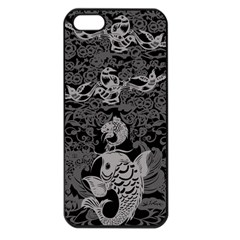 Form Of Auspiciousness Apple Iphone 5 Seamless Case (black) by doodlelabel