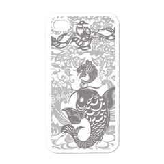Form Of Auspiciousness Apple Iphone 4 Case (white) by doodlelabel