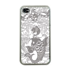 Form Of Auspiciousness Apple Iphone 4 Case (clear) by doodlelabel