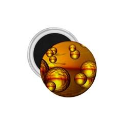 Sunset Bubbles 1 75  Button Magnet