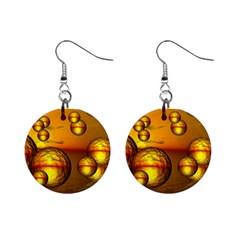 Sunset Bubbles Mini Button Earrings