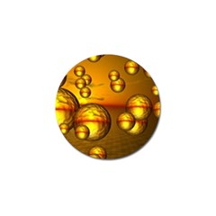 Sunset Bubbles Golf Ball Marker 10 Pack by Siebenhuehner