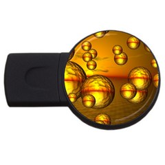 Sunset Bubbles 4gb Usb Flash Drive (round) by Siebenhuehner