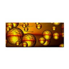 Sunset Bubbles Hand Towel by Siebenhuehner