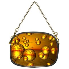 Sunset Bubbles Chain Purse (one Side) by Siebenhuehner