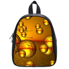 Sunset Bubbles School Bag (small) by Siebenhuehner
