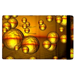 Sunset Bubbles Apple Ipad 2 Flip Case by Siebenhuehner