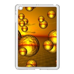 Sunset Bubbles Apple Ipad Mini Case (white) by Siebenhuehner