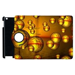Sunset Bubbles Apple Ipad 3/4 Flip 360 Case by Siebenhuehner