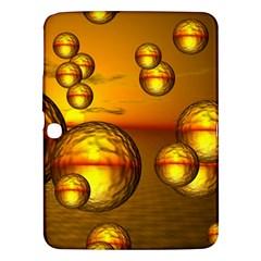 Sunset Bubbles Samsung Galaxy Tab 3 (10 1 ) P5200 Hardshell Case  by Siebenhuehner