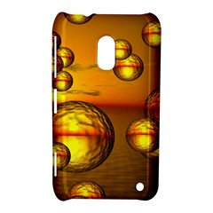 Sunset Bubbles Nokia Lumia 620 Hardshell Case by Siebenhuehner