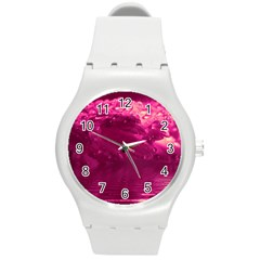 Waterdrops Plastic Sport Watch (medium) by Siebenhuehner
