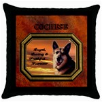 multipurpose throw cushion case, black - Throw Pillow Case (Black)