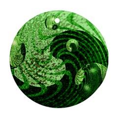 Magic Balls Round Ornament by Siebenhuehner