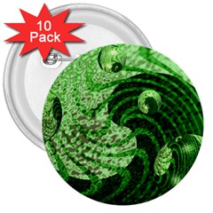 Magic Balls 3  Button (10 Pack) by Siebenhuehner