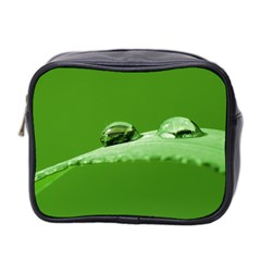 Waterdrops Mini Travel Toiletry Bag (Two Sides) by Siebenhuehner