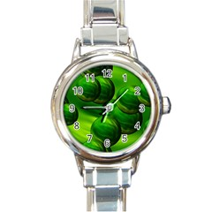 Magic Balls Round Italian Charm Watch by Siebenhuehner