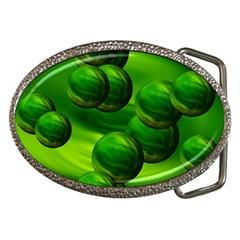 Magic Balls Belt Buckle (oval) by Siebenhuehner