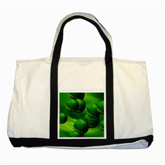 Magic Balls Two Toned Tote Bag by Siebenhuehner