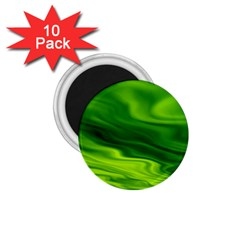 Green 1 75  Button Magnet (10 Pack) by Siebenhuehner