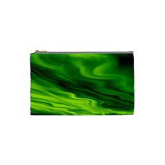 Green Cosmetic Bag (small) by Siebenhuehner