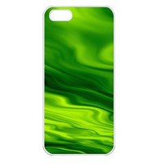 Green Apple Iphone 5 Seamless Case (white) by Siebenhuehner