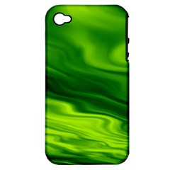 Green Apple Iphone 4/4s Hardshell Case (pc+silicone) by Siebenhuehner