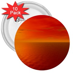 Sunset 3  Button (10 Pack) by Siebenhuehner