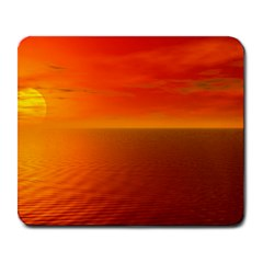 Sunset Large Mouse Pad (rectangle) by Siebenhuehner