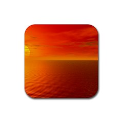 Sunset Drink Coasters 4 Pack (square) by Siebenhuehner