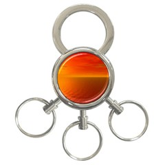 Sunset 3 Ring Key Chain by Siebenhuehner