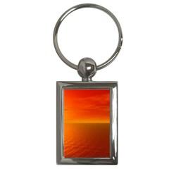 Sunset Key Chain (rectangle) by Siebenhuehner