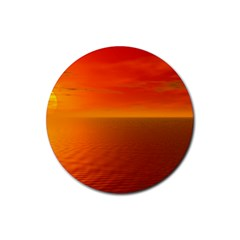 Sunset Drink Coaster (round) by Siebenhuehner