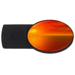 Sunset 2GB USB Flash Drive (Oval) by Siebenhuehner