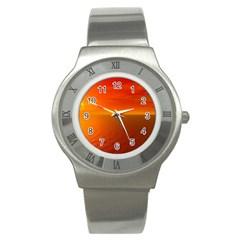 Sunset Stainless Steel Watch (unisex) by Siebenhuehner