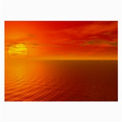 Sunset Glasses Cloth (large, Two Sided) by Siebenhuehner